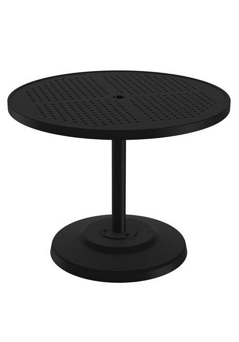 Boulevard Aluminum Dining Table Frame Color: Obsidian, Size: 36
