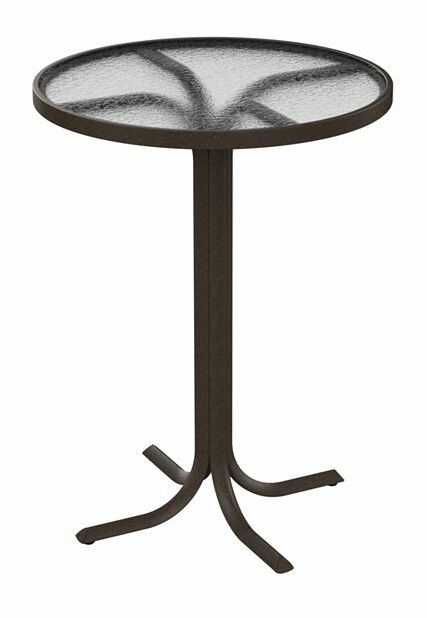 Bar Table Frame Color: Parchment, Size: 36