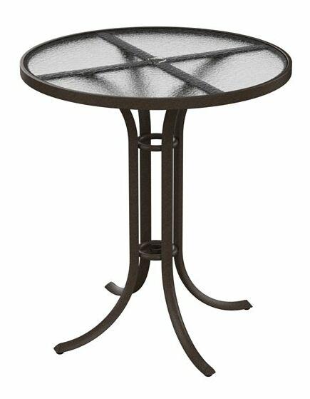 Umbrella Bar Table Frame Color: Greco