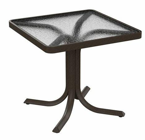 Side Table Frame Color: Obsidian
