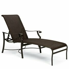 Montreux Reclining Chaise Lounge Finish: Greco