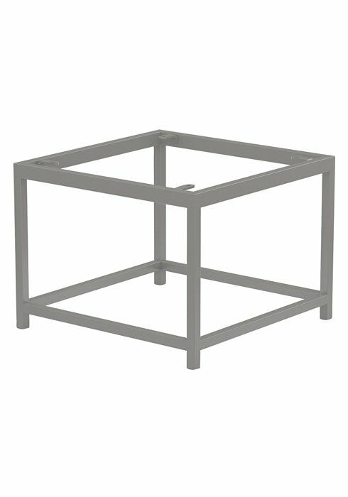 Cabana Club Side Table Base Frame Color: Woodland