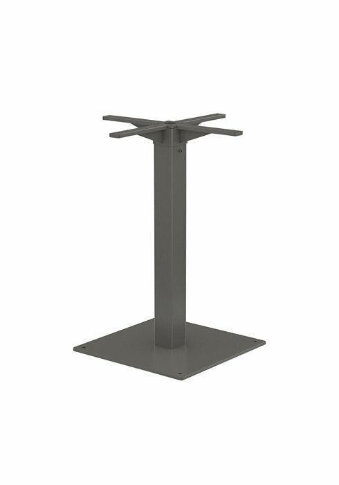 Cabana Club Bar Table Base Frame Color: Graphite