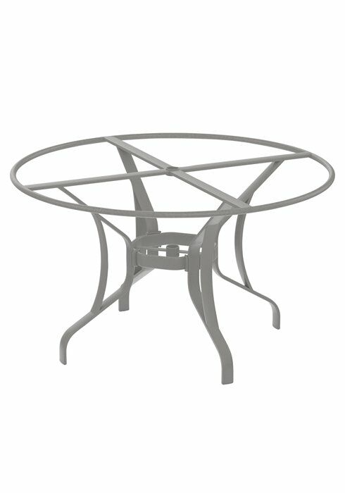 Dining Table Base Frame Color: Graphite