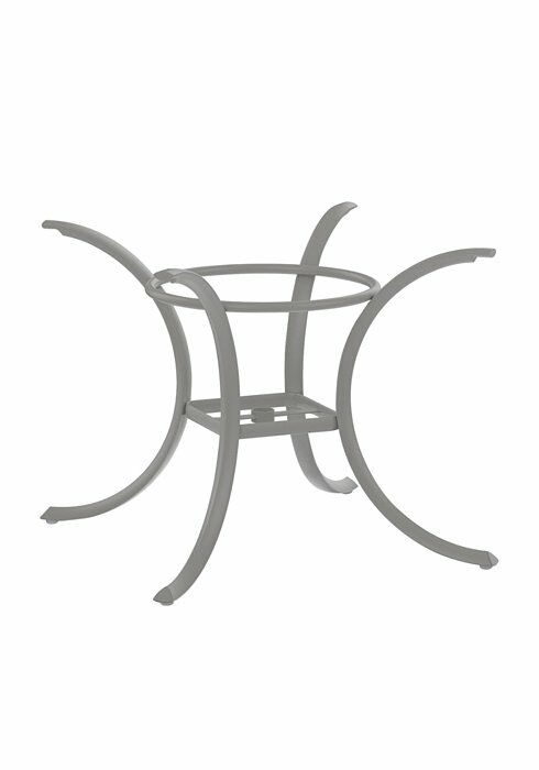 Dining Table Base Frame Color: Shell