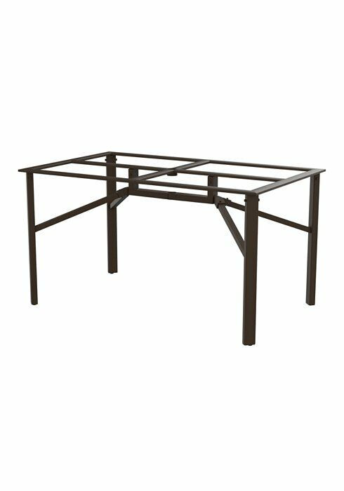 Universal Dining Table Base Frame Color: Snow