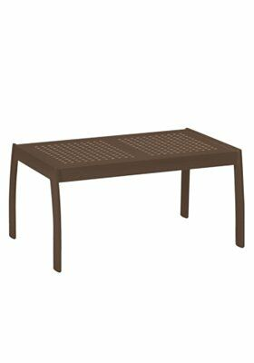 Boulevard  Aluminum Coffee Table Frame Color: Greco