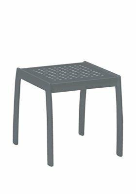 Boulevard Tea Aluminum Side Table Frame Color: Graphite