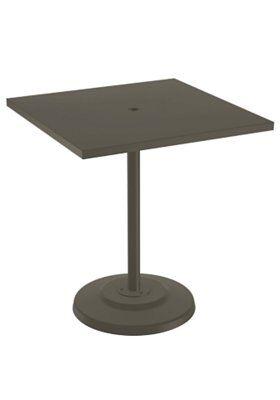 Boulevard Aluminum Bar Table Frame Color: Mocha, Size: 40