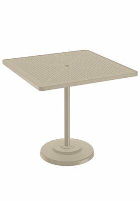 La'Stratta Aluminum Bar Table Frame Color: Sonora