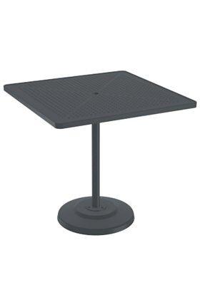 La'Stratta Aluminum Bar Table Frame Color: Graphite