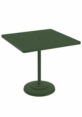 La'Stratta Aluminum Bar Table Frame Color: Woodland