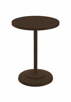 Boulevard Aluminum Bar Table Size: 42