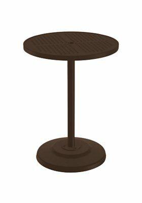 Boulevard Aluminum Bar Table Frame Color: Graphite, Size: 30