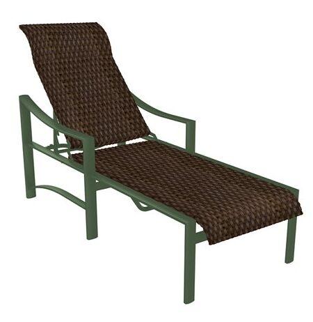 Kenzo Reclining Chaise Lounge Finish: Woodland