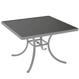 Raduno Square Aluminum Dining Table