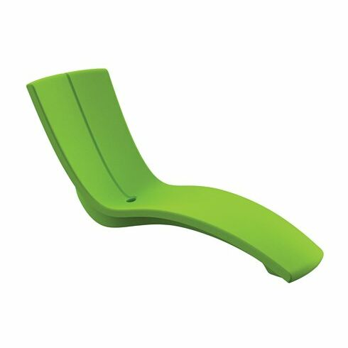 Curve Chaise Lounge Seat Color: Bright Sandstone