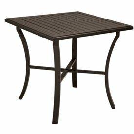 Banchetto Bar Table Frame Color: Graphite