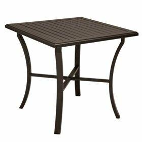Banchetto Bar Table Frame Color: Greco