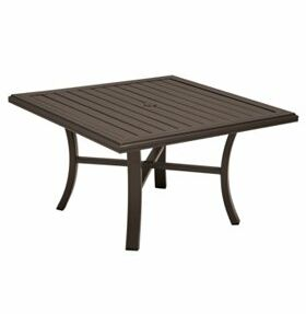 Banchetto Chat Table Frame Color: Sonora