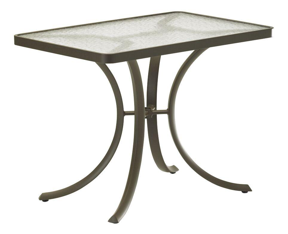 Dining Table Frame Color: Parchment, Umbrella Hole: No