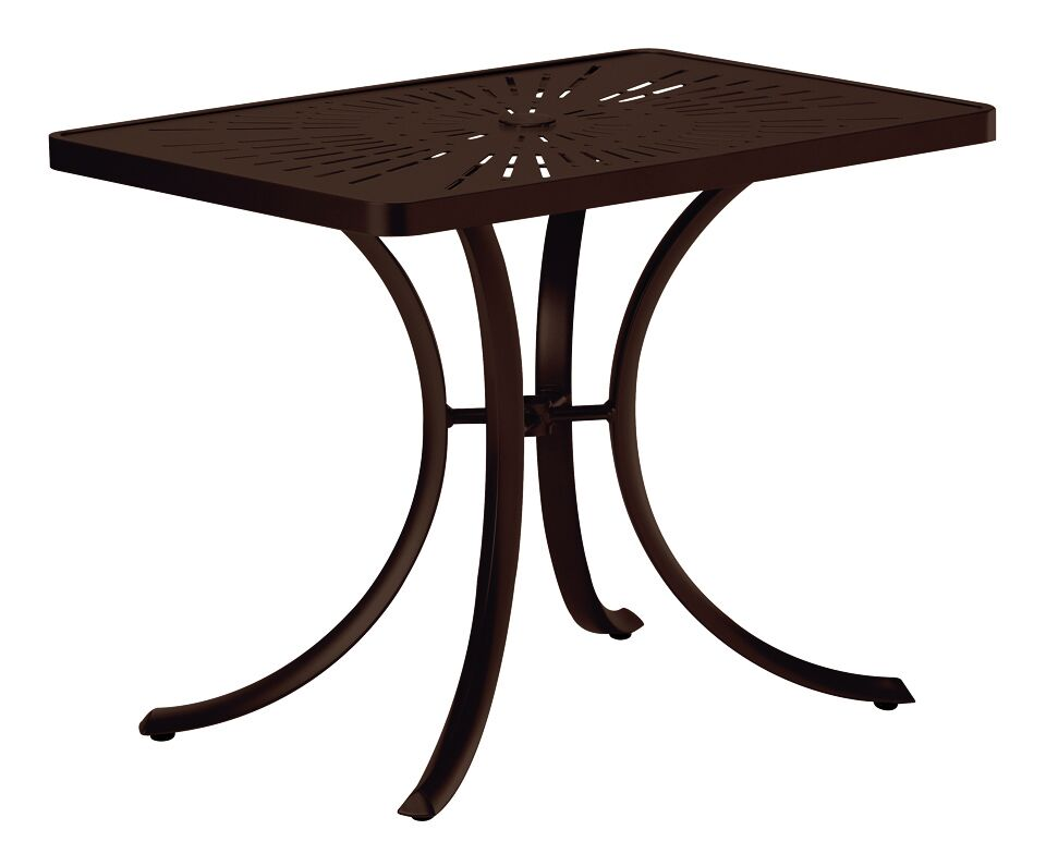 La'Stratta Aluminum Dining Table Frame Color: Greco
