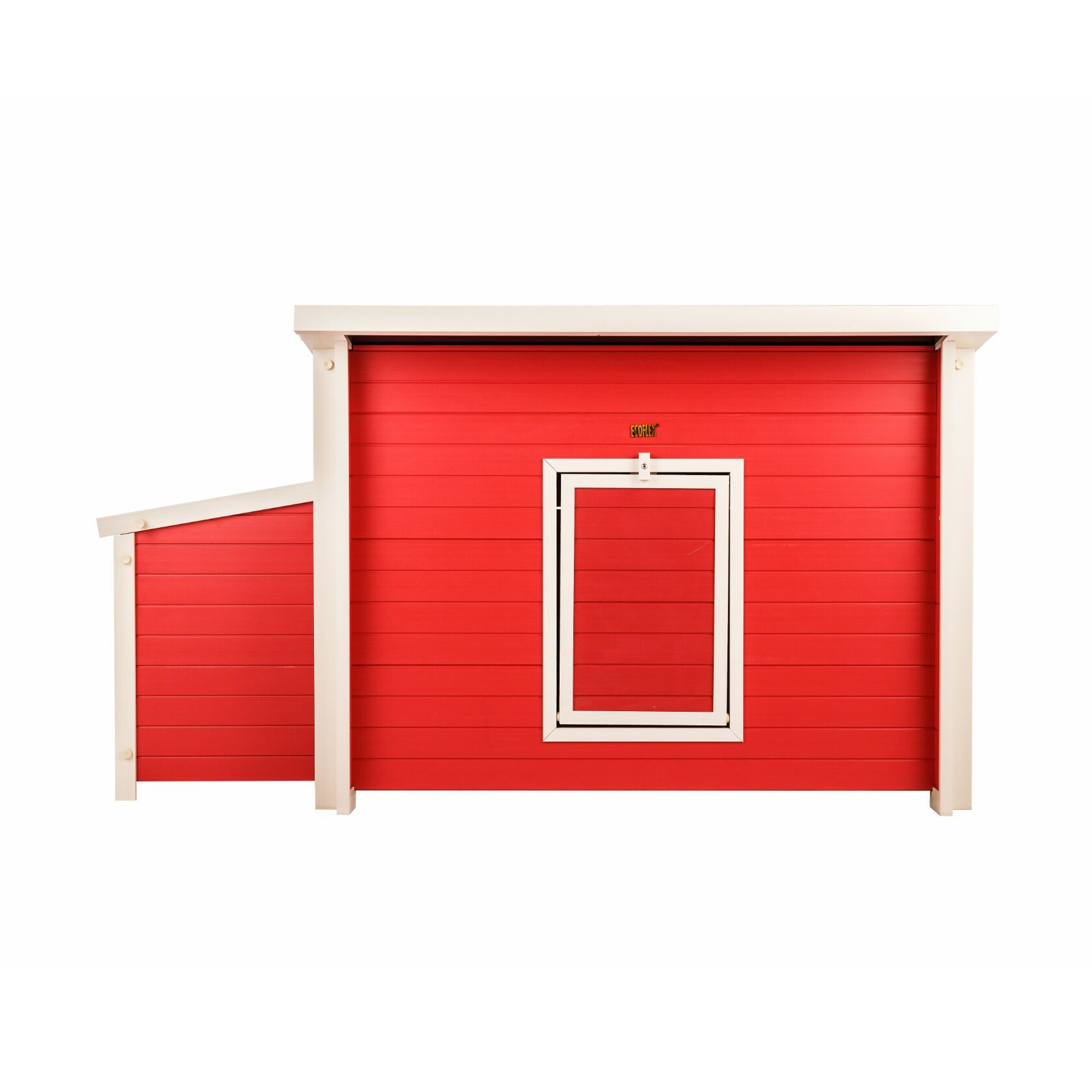 Achilles ecoFLEX Chicken Barn Color: Red