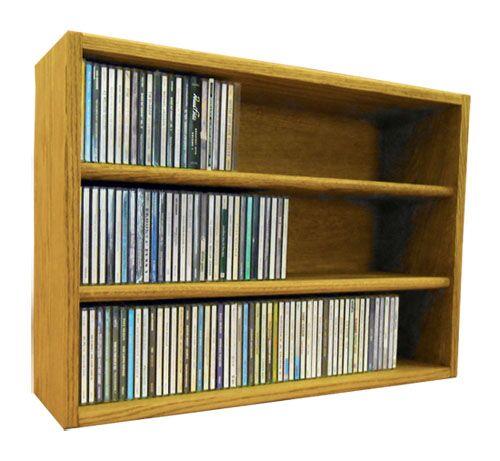 Multimedia Storage Rack Size: 18.75