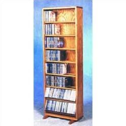 800 Series 336 CD Dowel Multimedia Storage Rack Color: Unfinished