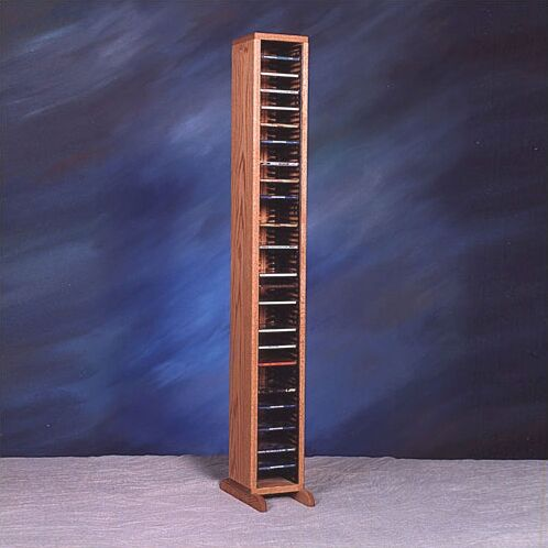100 Series 80 CD Multimedia Storage Rack Color: Natural