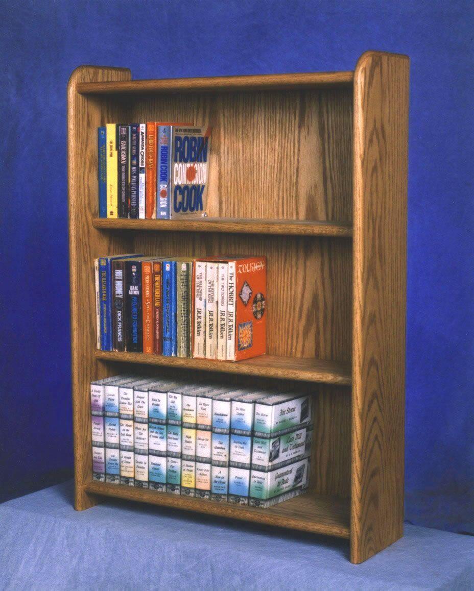 300 Series 120 DVD Multimedia Storage Rack Color: Clear
