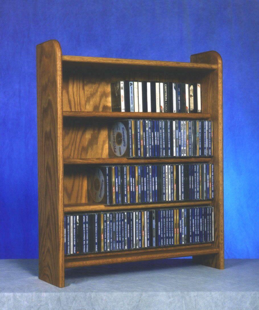400 Series 220 CD Multimedia Storage Rack Color: Clear