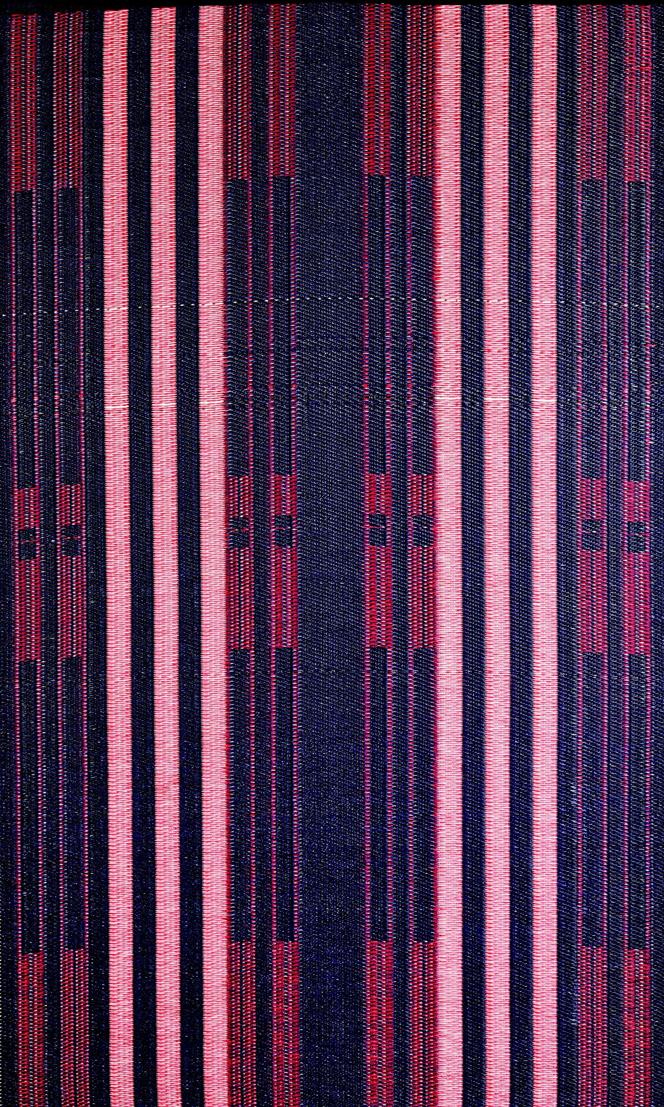 Brick Lane Reversible Design Blue/Red Outdoor Area Rug Rug Size: 6' x 9'
