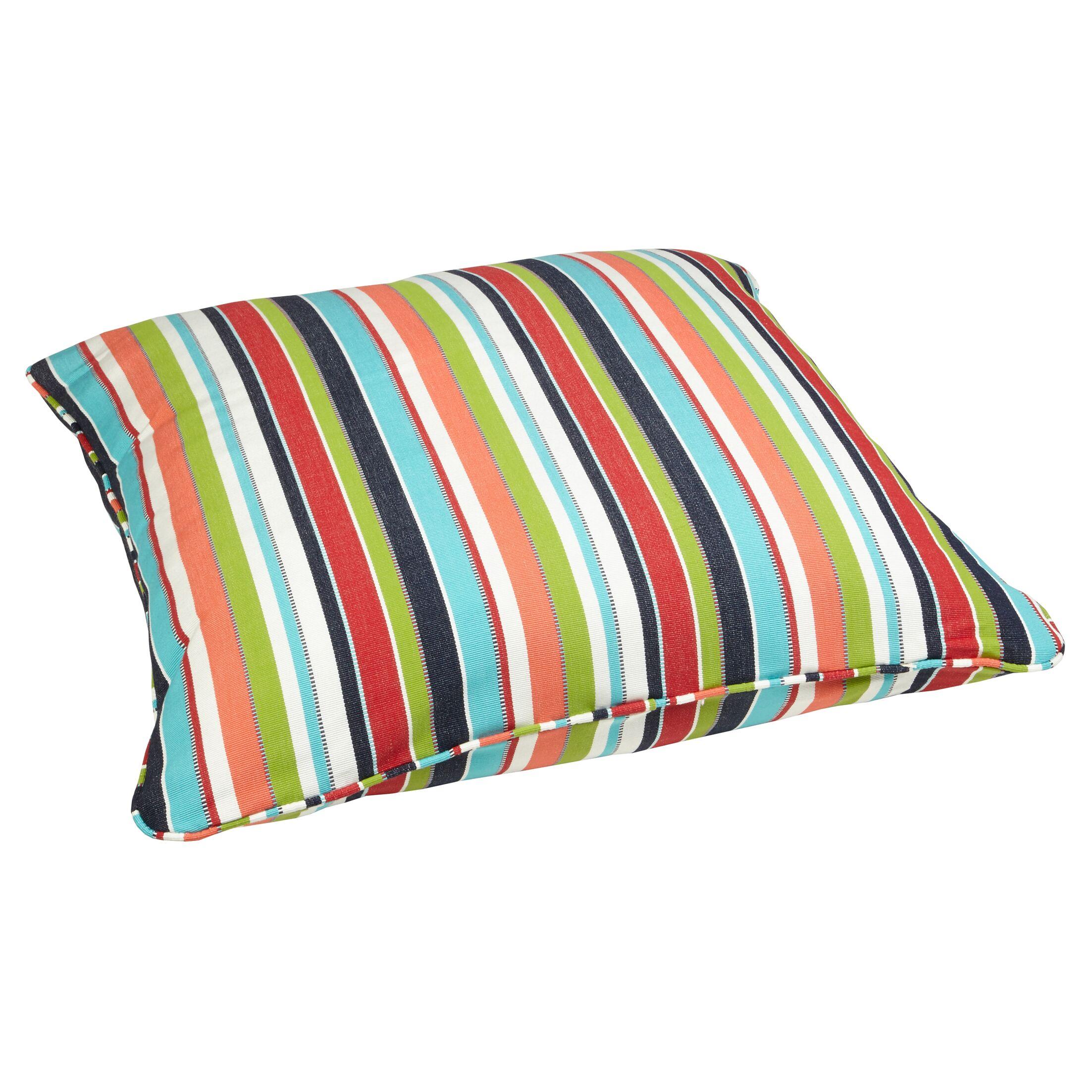 Corded Indoor/Outdoor Sunbrella Throw Pillow