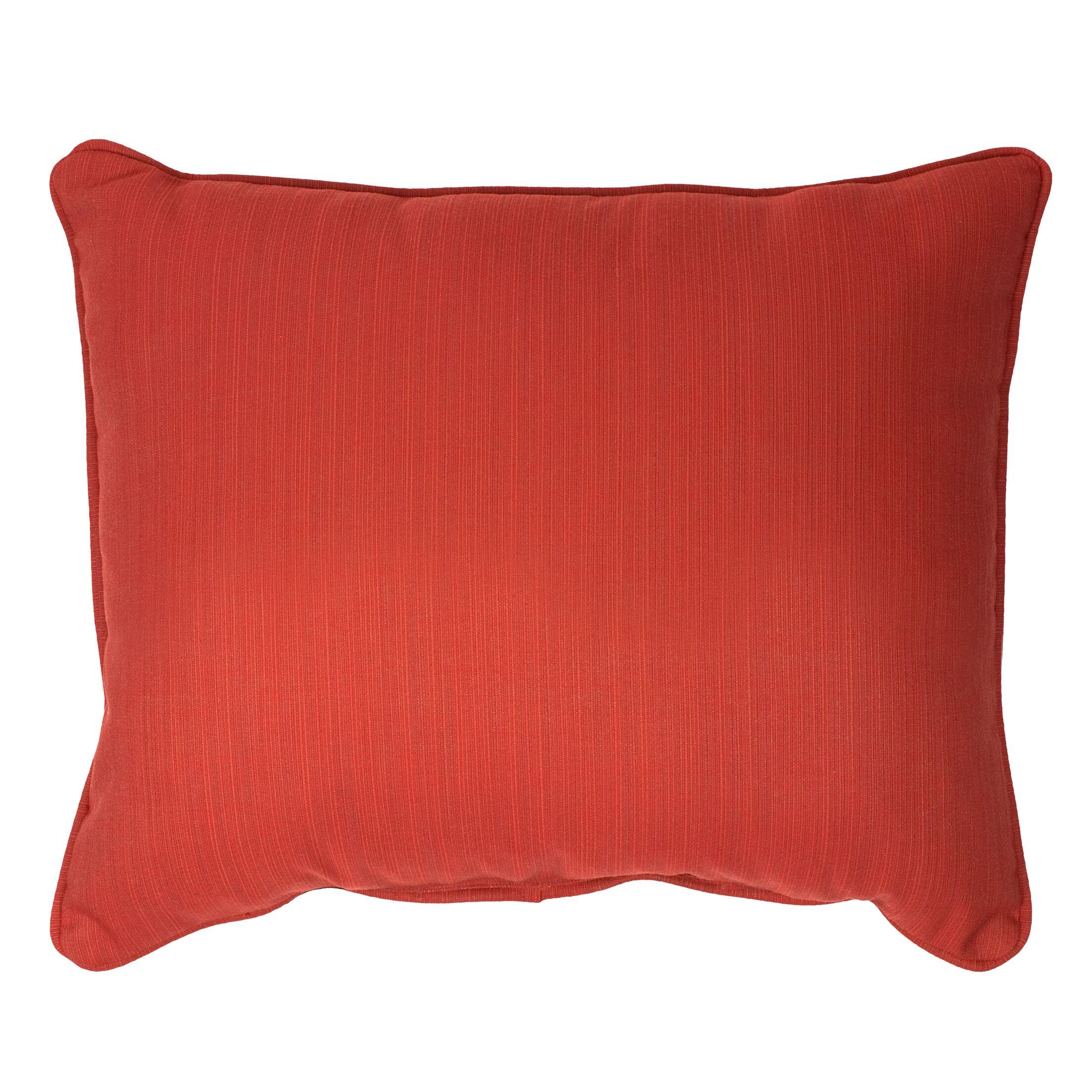 Outdoor Sunbrella Lumbar Pillow Size: 13