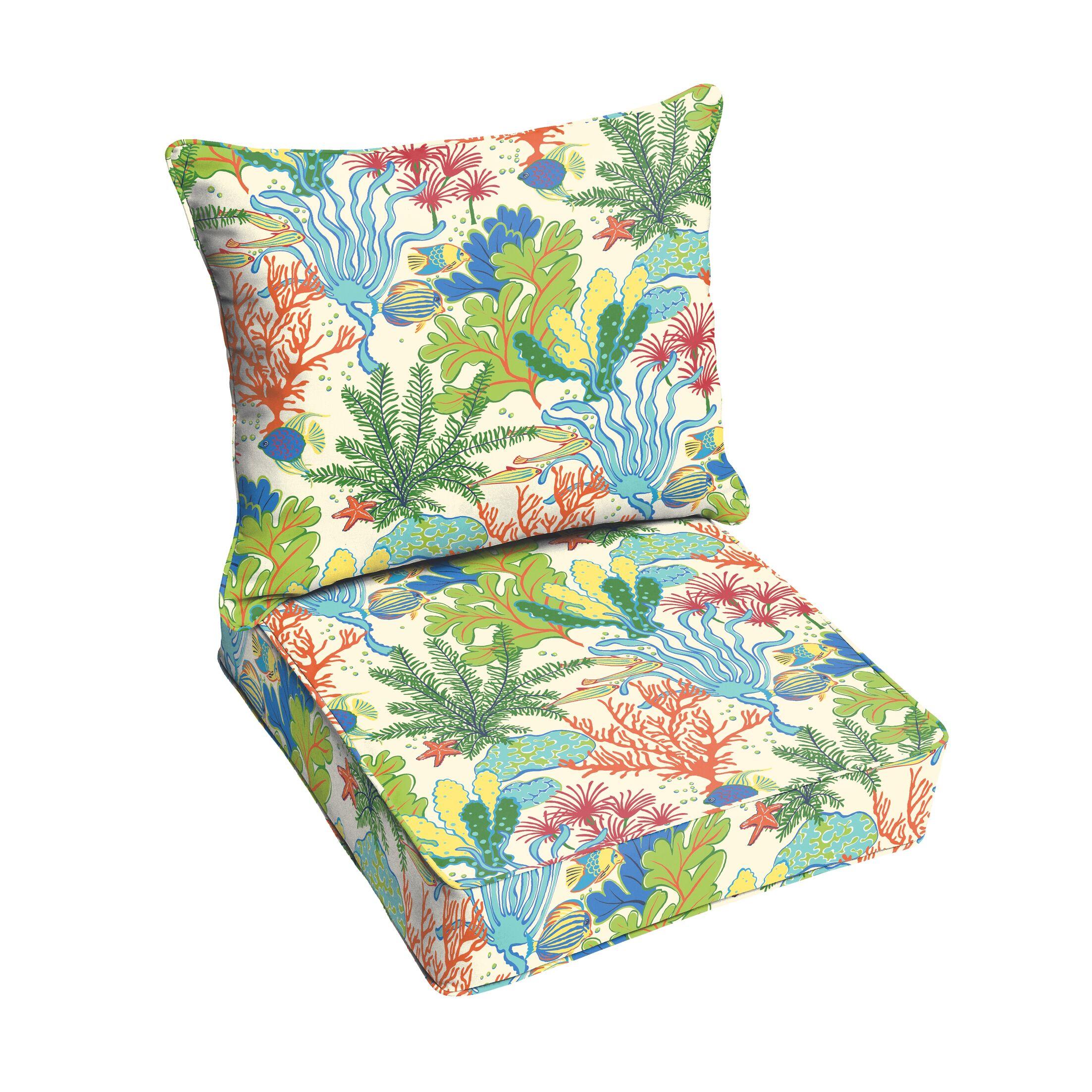 Evadne Indoor/Outdoor Lounge Chair Cushion