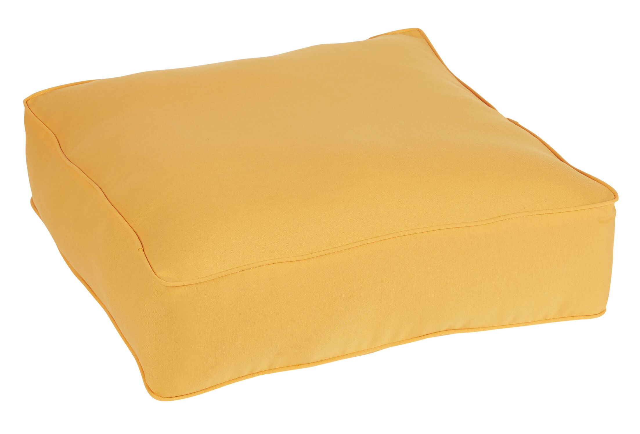 Keila Indoor/Outdoor Euro Pillow Color: Orange