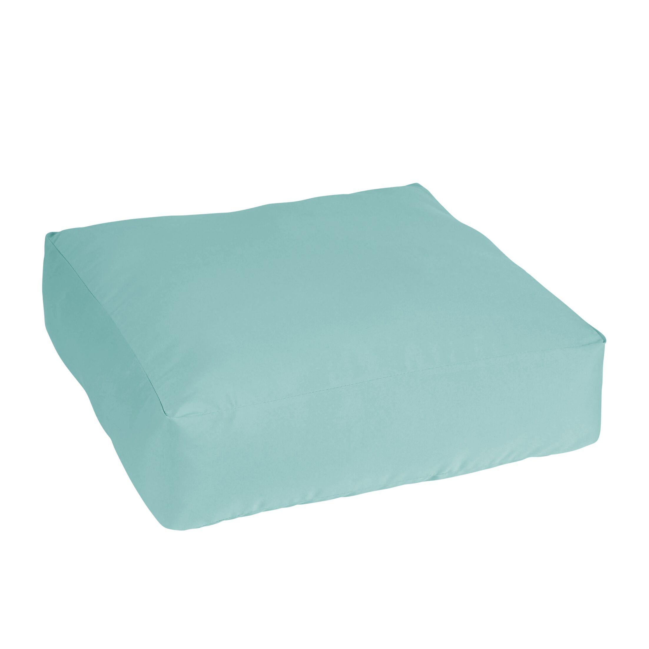Colville Stain Resistant Indoor/Outdoor Square Floor Pillow