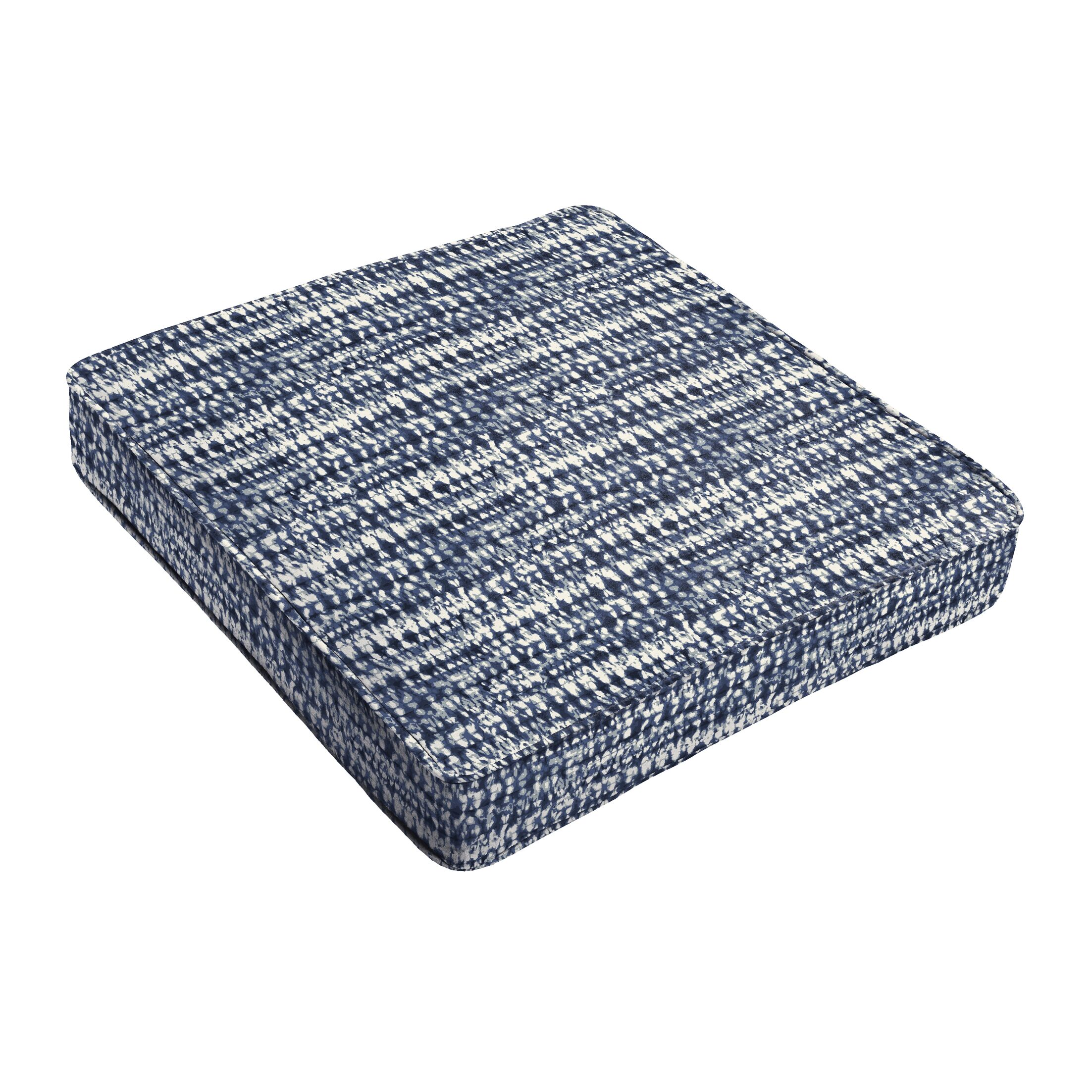 Piped Indoor/Outdoor Dining Chair Cushion Size: 5