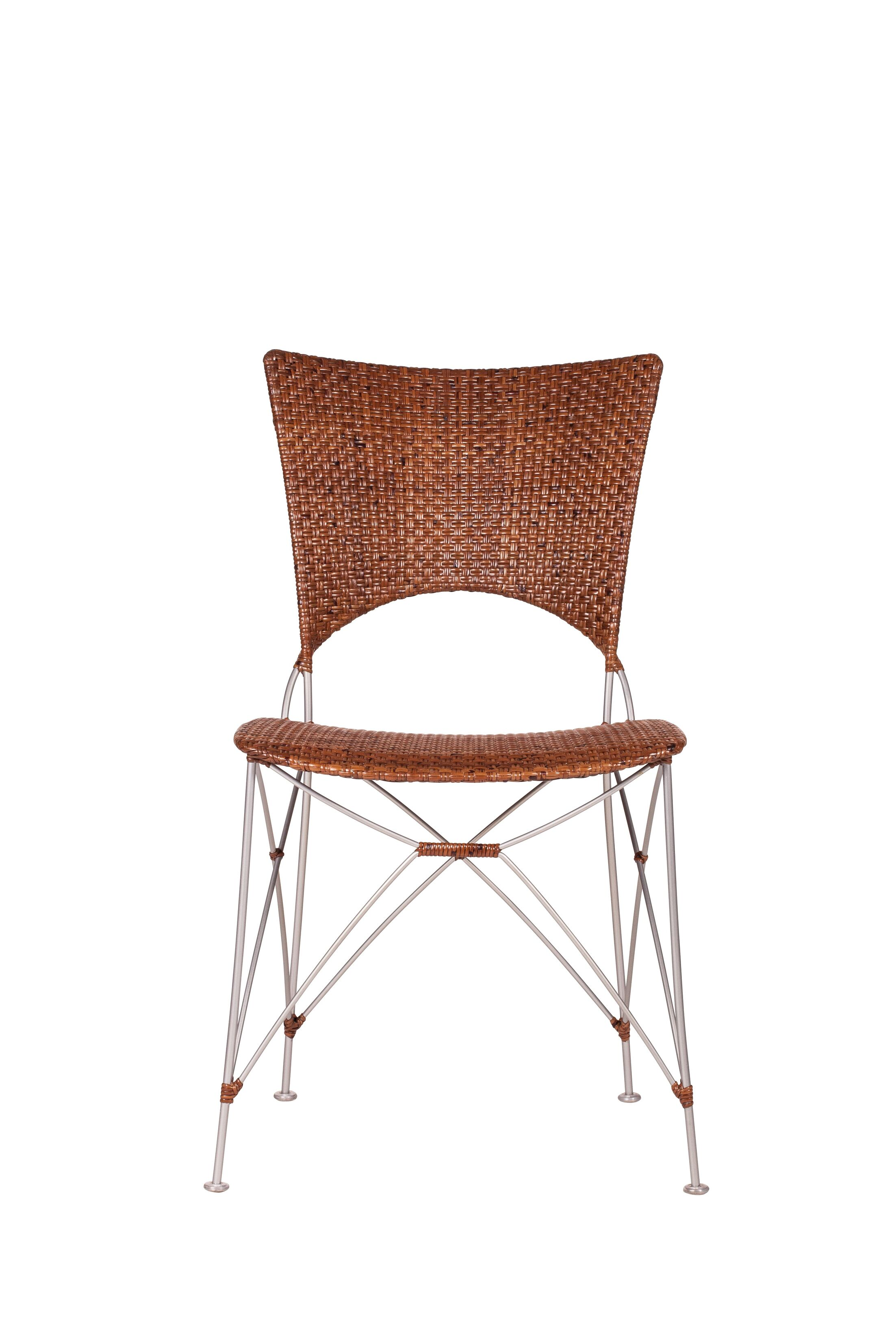 Birdwell Dining Chair Color: Brown