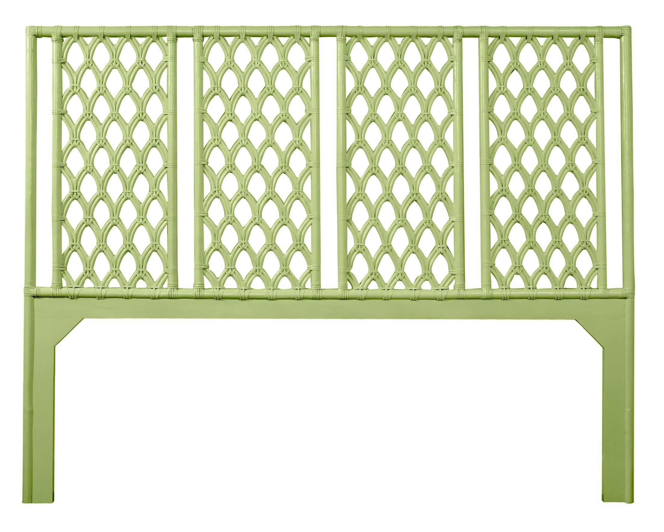 Casablanca Open-Frame Headboard Color: Celery Green, Size: Twin