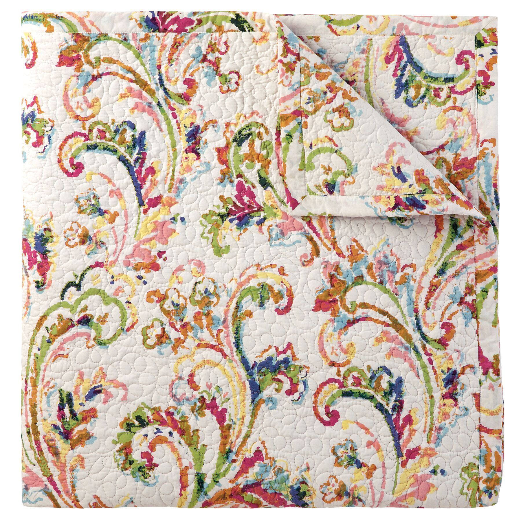 Freesia Quilted Sham Size: King