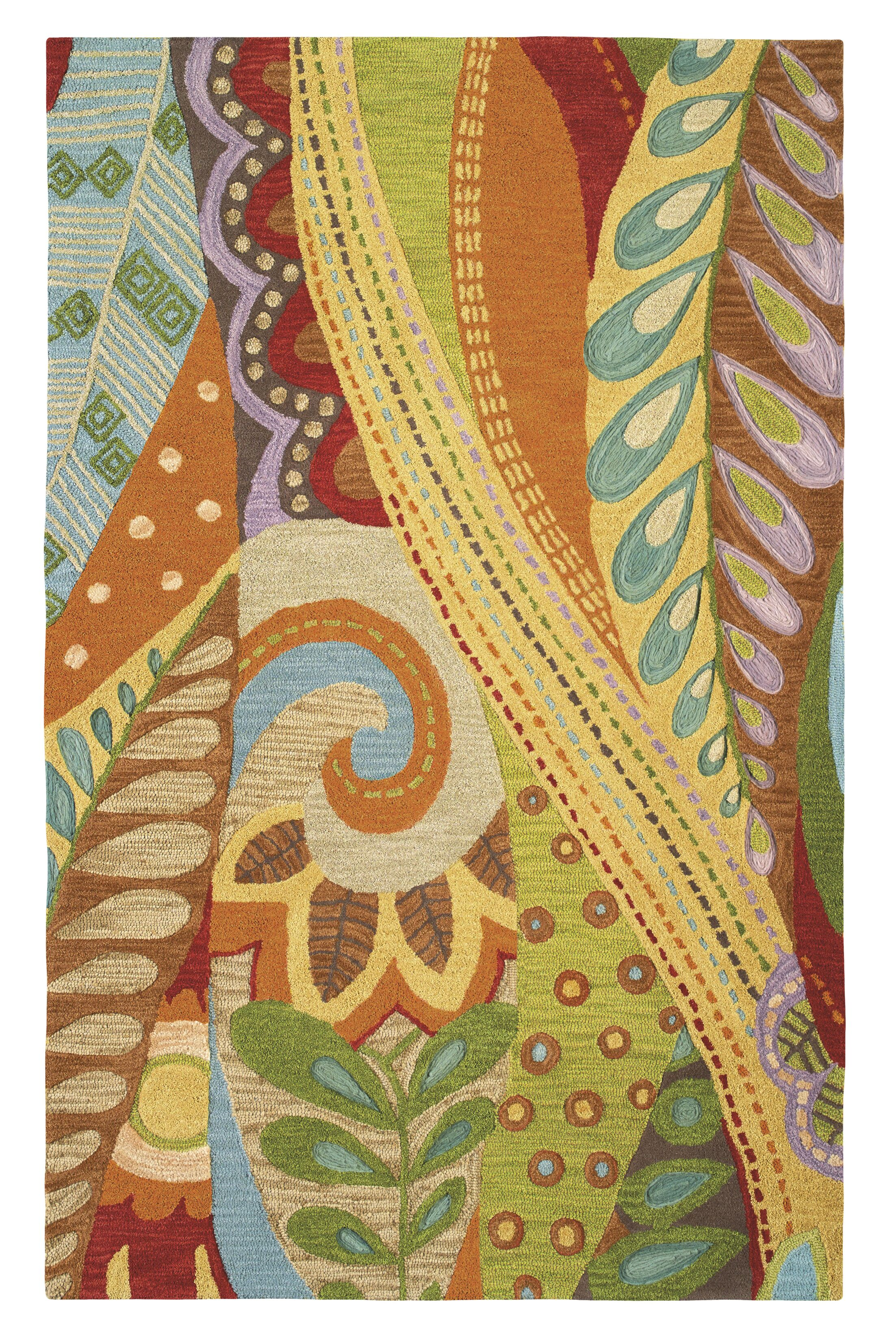 Art and Soul Area Rug Rug Size: Rectangle 9' x 13'