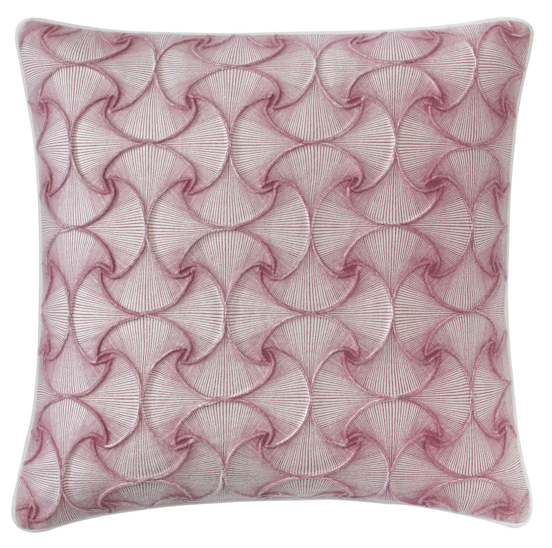 Deja Vu Throw Pillow Color: Berry