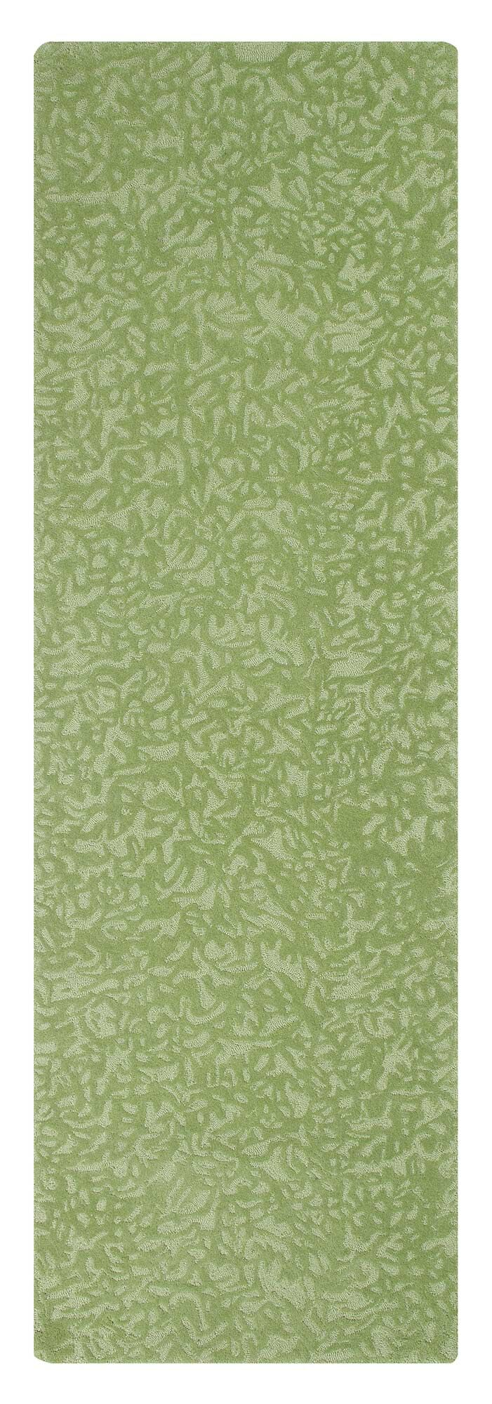 Crackle Hand-Tufted Grass Area Rug Rug Size: Rectangle 5' x 8'