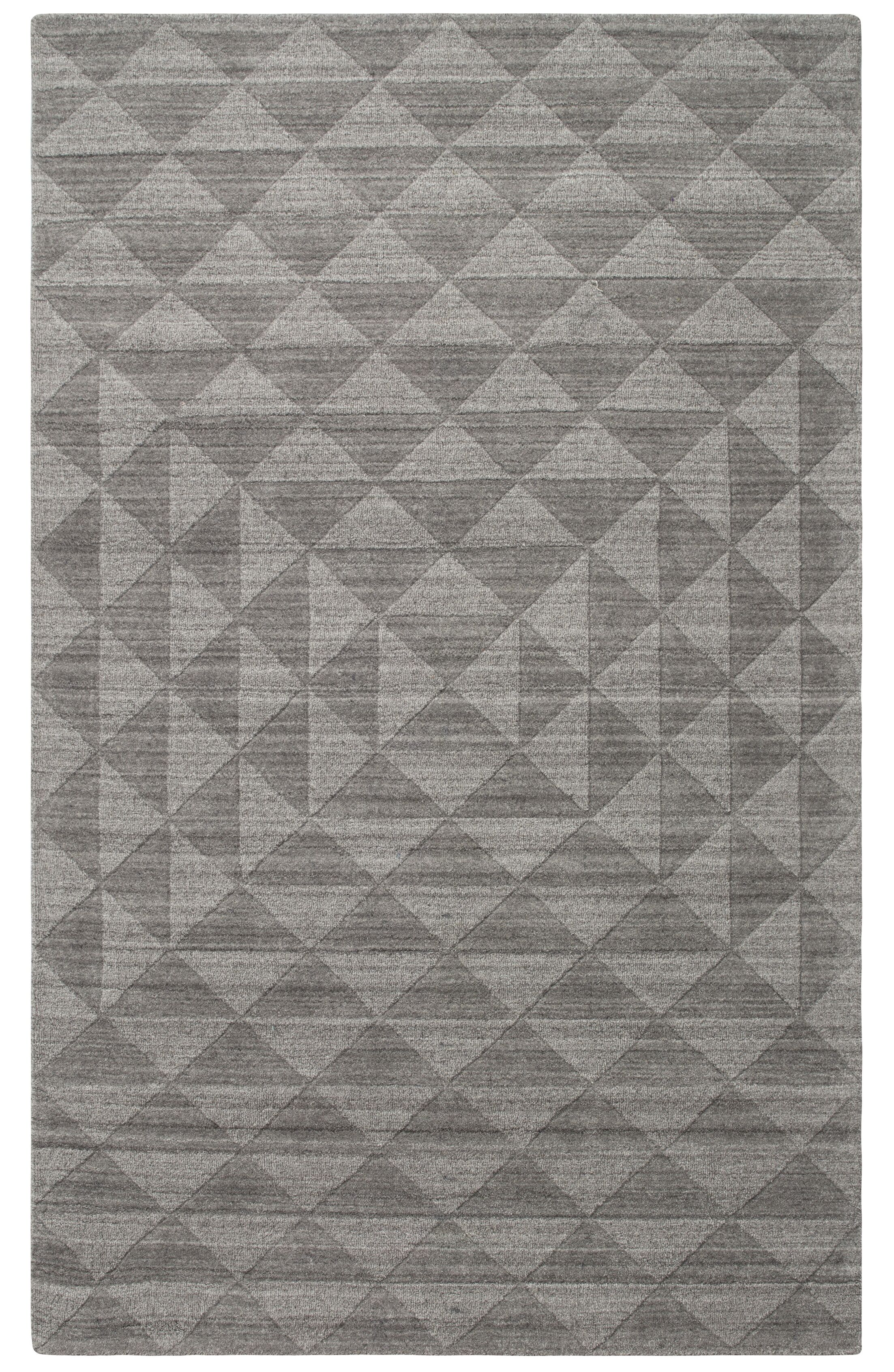 Fergerson Gray Area Rug Rug Size: Rectangle 2' x 3'