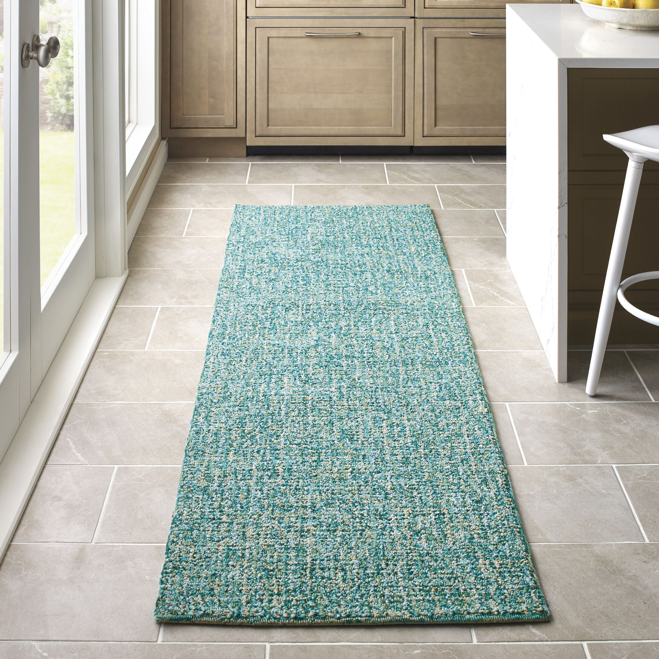 Donegal Hand Tufted Lake Area Rug Rug Size: Rectangle 3'6