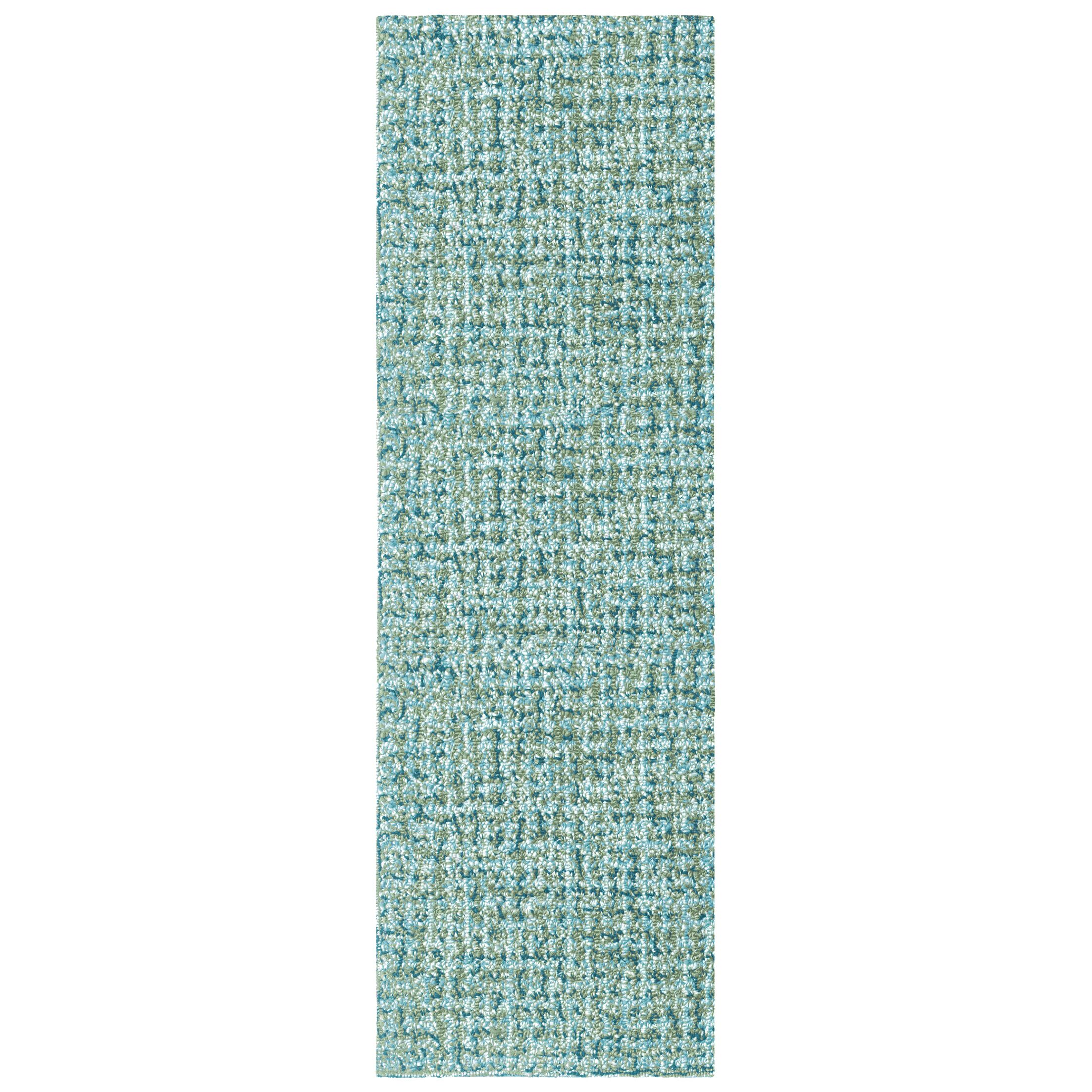 Donegal Hand Tufted Lake Area Rug Rug Size: Rectangle 2'6