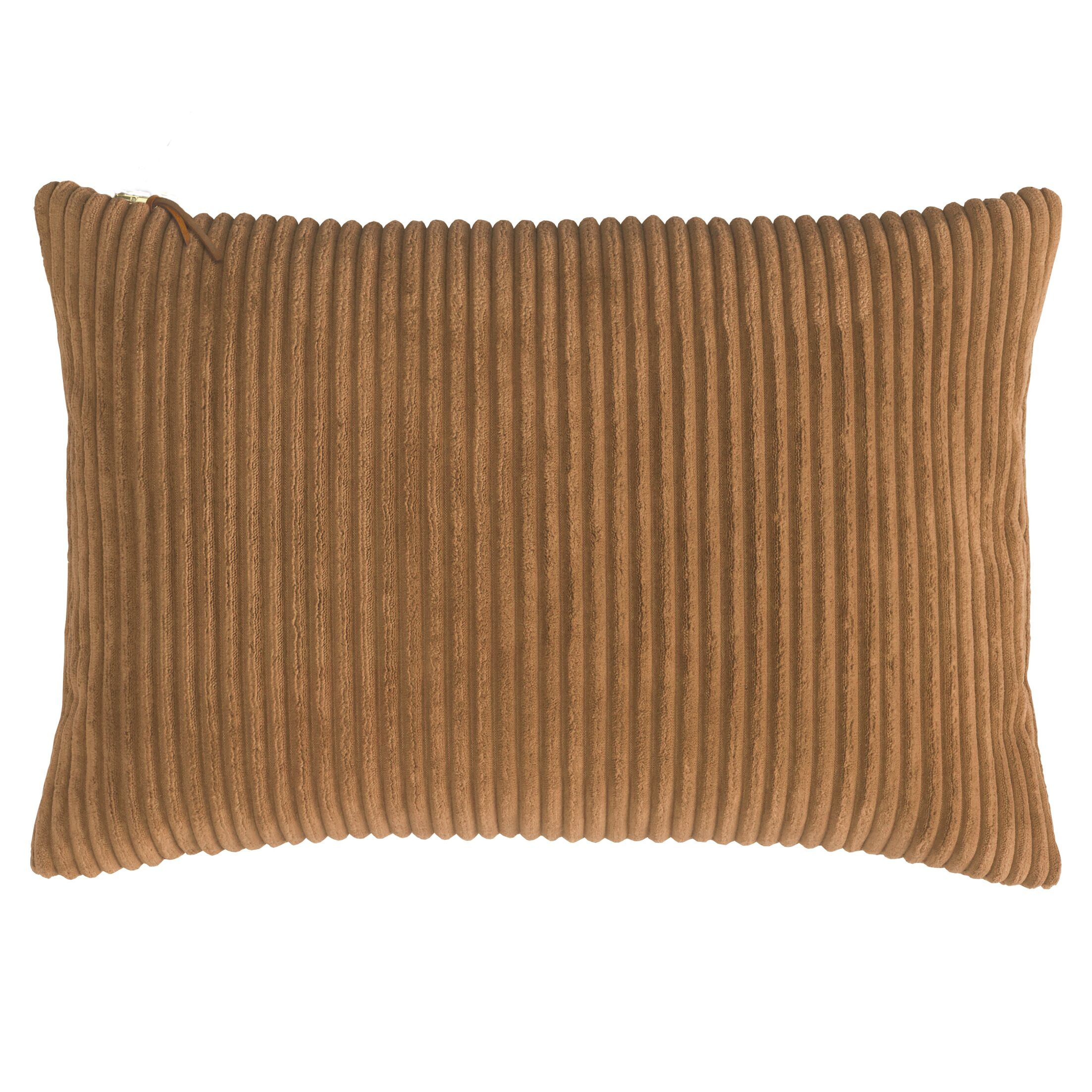 Breckenridge Lumbar Pillow Color: Copper