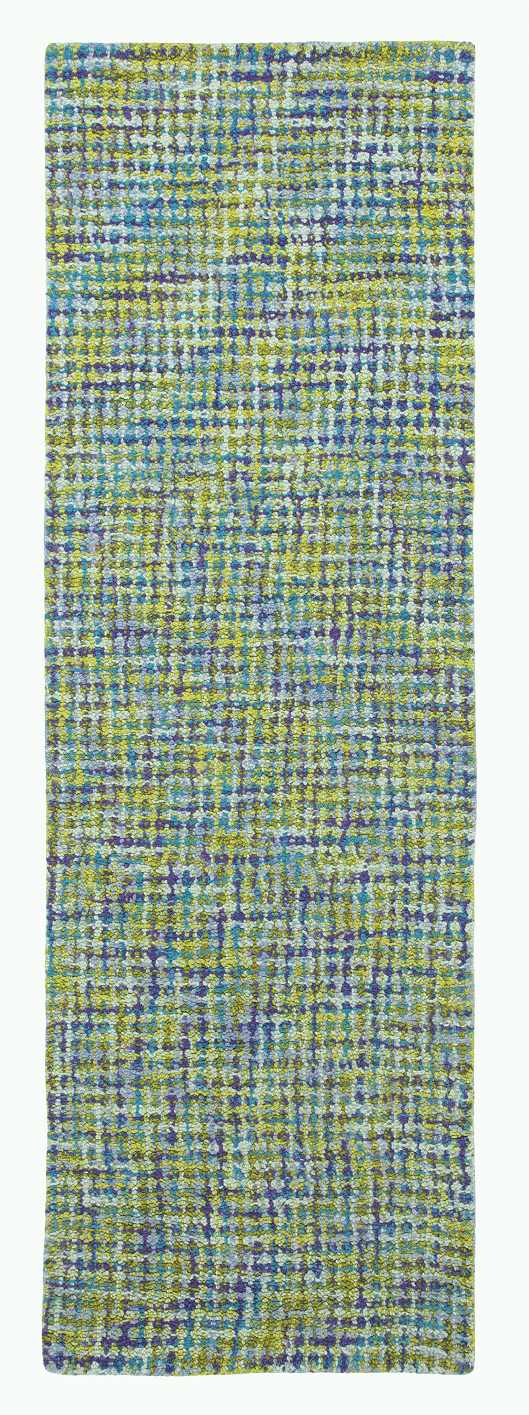 Tweedy Blue Area Rug Rug Size: Runner 2'6